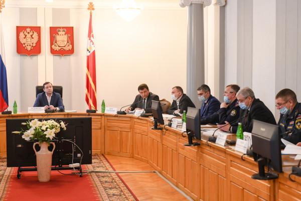 Губернатор Смоленской области провёл заседание Антитеррористической комиссии