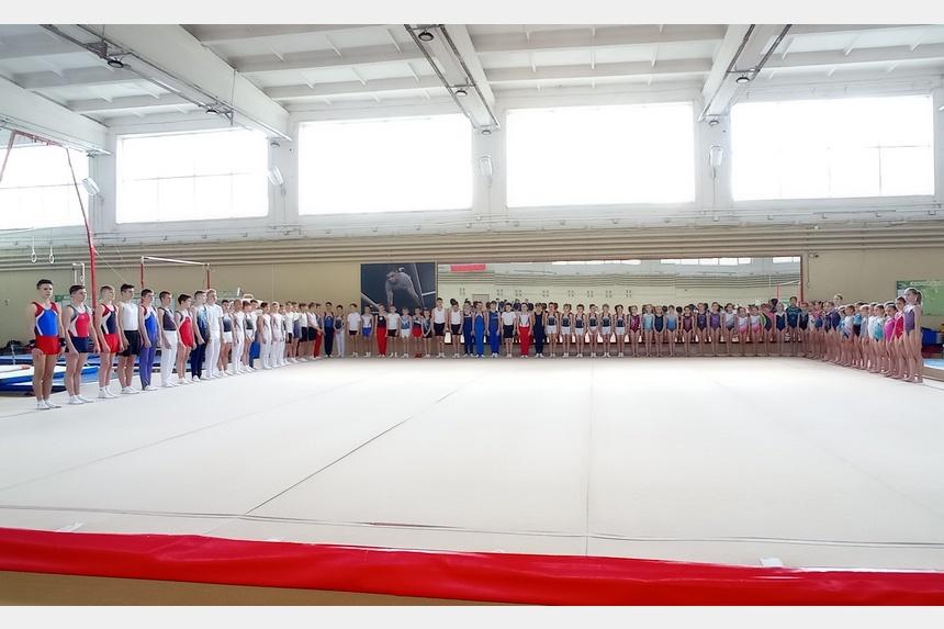 В Смоленске состоялись чемпионат и первенство города по спортивной гимнастике
