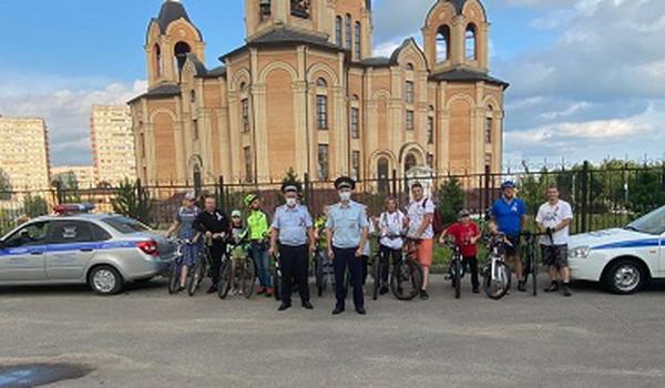 В Десногорске прошла акция «Внимательный велосипедист»